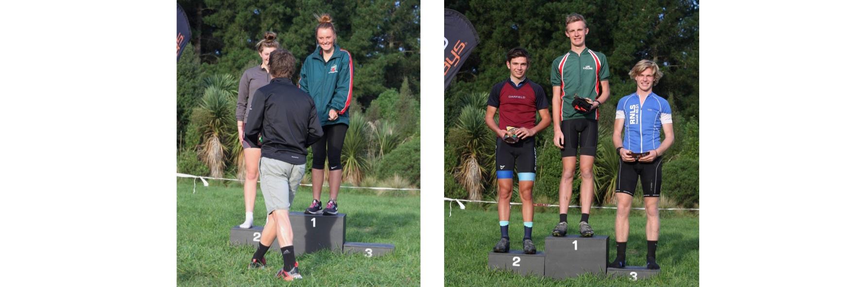 16 podium