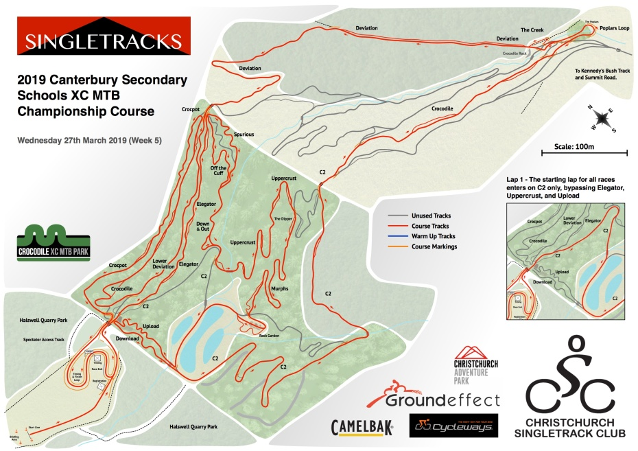 Singletracks Week 5 2019 Full Course